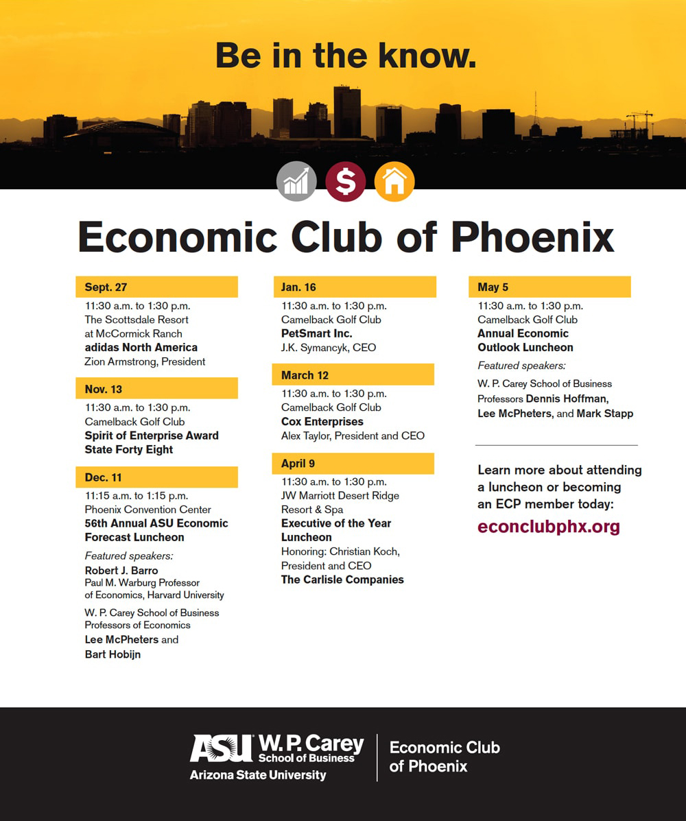 ASU Ad: Economic Club of Phoenix